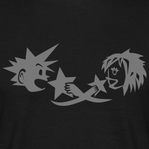 Kingdom Hearts Sora and Kairi T-Shirts - Men's T-Shirt