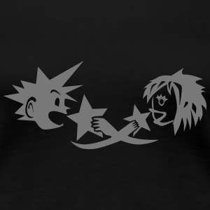 Kingdom Hearts: KairixSora (shoujo) - Women's Premium T-Shirt