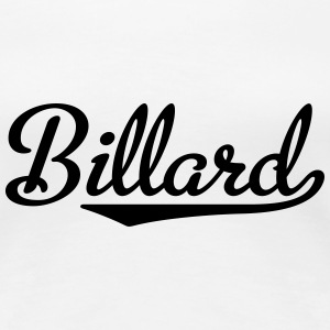 Billard T-Shirts - Frauen Premium T-Shirt