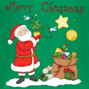 Santa Claus with bag of gifts - T-shirt Premium Enfant