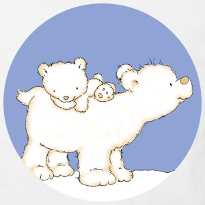 Polar Bears - Kinderen Bio-T-shirt