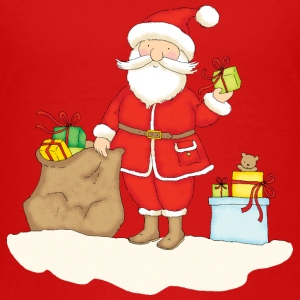 Santa Claus with presents - Maglietta Premium per bambini