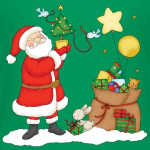 Santa Claus with bag of gifts - Premium T-skjorte for barn