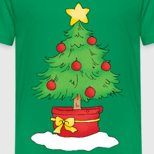 Christmas tree - Kinderen Premium T-shirt