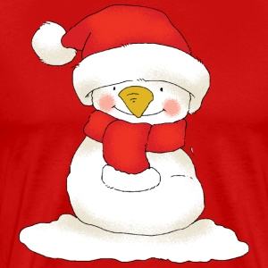 Christmas snowman - Men's Premium T-Shirt