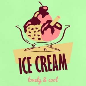 lecker Eiscreme - lovely and cool Camisetas - Camiseta bebé