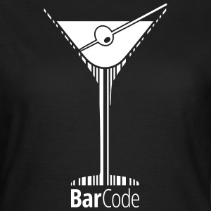 BarCode Martini T-Shirts - Frauen T-Shirt