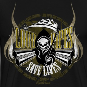 Kabes Loud Pipes T-Shirt - Men's Premium T-Shirt