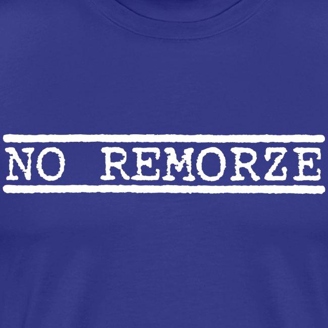 No Remorze - White Logo