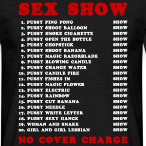 Bangkok Red Light Ping Pong Sex Show T-Shirts - Men's T-Shirt