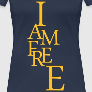 I am free - Women's Premium T-Shirt