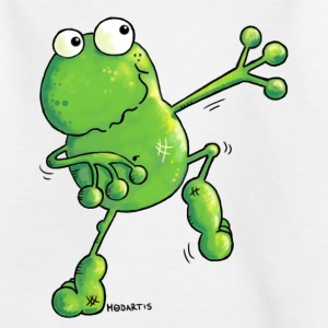 Green Power - Frosch - Quakfrosch - T-Shirt - Kinder T-Shirt