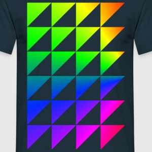 Triangles arc  Tee shirts - T-shirt Homme