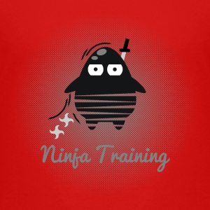 Die Digi-Fitties: Ninja-Training Shirts - Kids' Premium T-Shirt