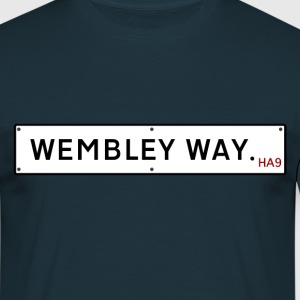 Wembley Way Road Sign T-Shirts - Men's T-Shirt