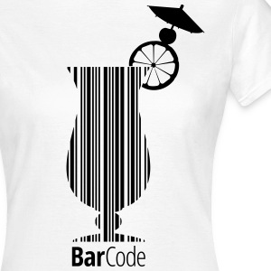 Barcode Cocktail - Frauen T-Shirt