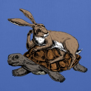 Hare and Tortoise Bags & backpacks - Tote Bag