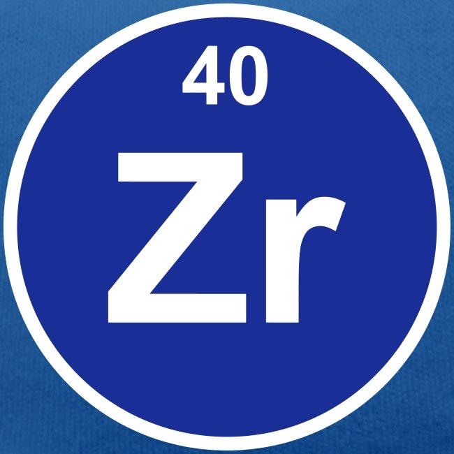 Periodic Table Words Zirconium Zr Element 40 Minimal Round 2