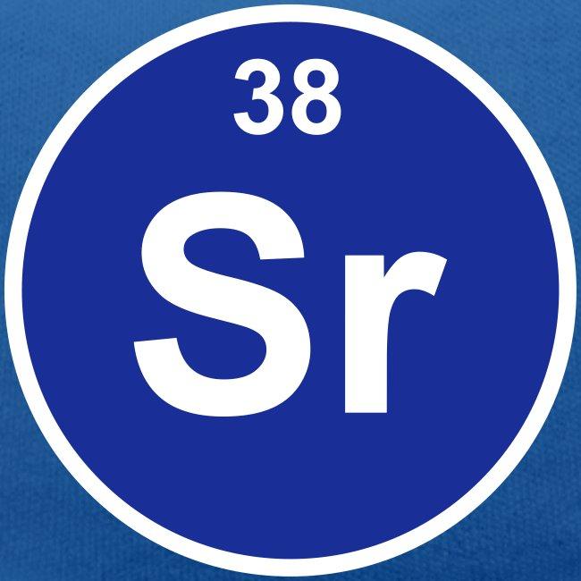Periodic Table Words Strontium Sr Element 38 Minimal Round 2