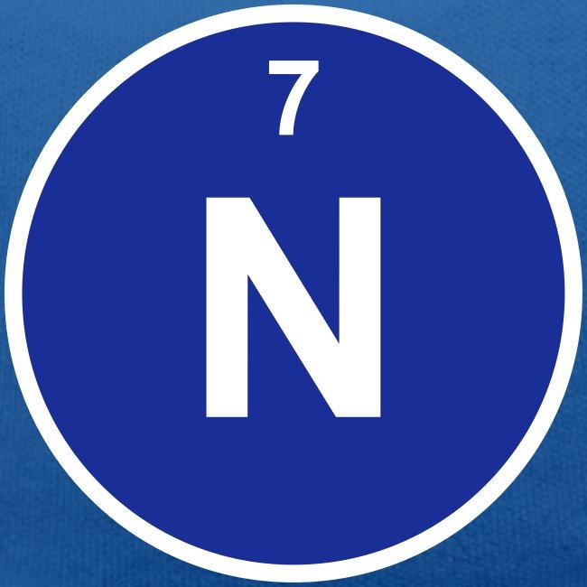 Periodic Table Words Nitrogen N Element 7 Minimal Round 2
