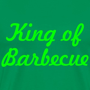 King of Barbecue Tee shirts - T-shirt Premium Homme