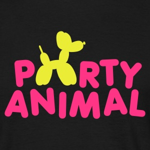 Black Party Animal Men's Tees - Men's T-Shirt
