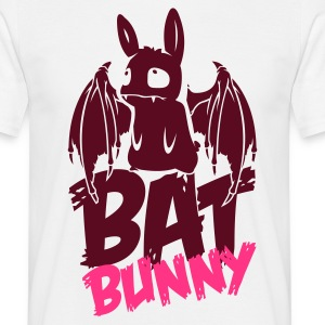 Sand beige bunny_bat_text Men's T-Shirts - Men's T-Shirt