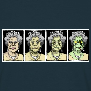 Liz is a Lizard - Men's T-Shirt