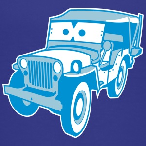 Kids Cars - altgedienter Jeep T-shirts - Børne premium T-shirt