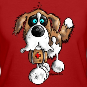 Bernhard - St. Bernard - dog breed - dog shirt T-Shirts - Women's Organic T-shirt