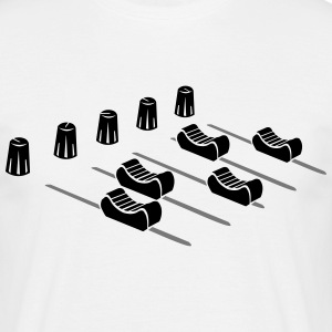 Music Mixer  T-shirts - Mannen T-shirt