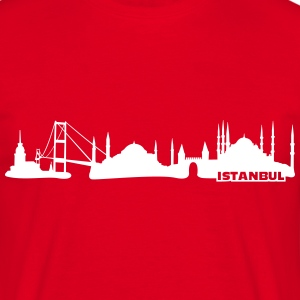 Istanbul Skyline Tee shirts - T-shirt Homme