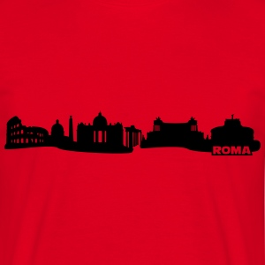 Rome Skyline T-Shirts - Men's T-Shirt