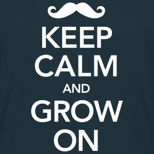 Keep Calm And Grow On Tee shirts - T-shirt Homme