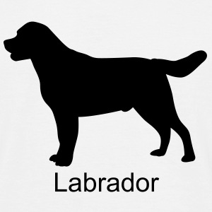 Shirt Labrador Retriever - Männer T-Shirt