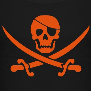 Pirate flag blackjack Shirts - Teenage Premium T-Shirt