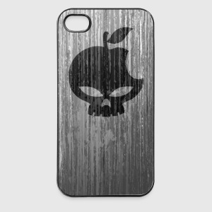 Grunge skull - coque smartphone - Coque rigide iPhone 4/4s
