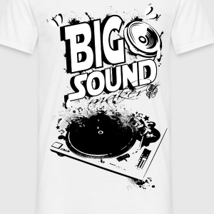 big sound maker et platine - T-shirt Homme