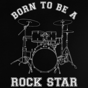 Born To Be A Rock Star Drums T-Shirts - Baby T-Shirt