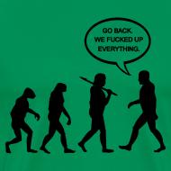 Design ~ Go Back Evolution T-Shirt