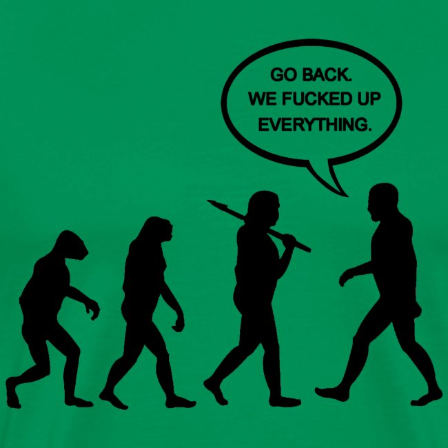 Go Back Evolution T-Shirt
