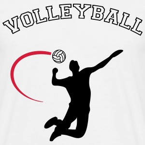 volleybal T-shirts - Mannen T-shirt