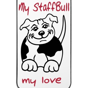 staffbull1 Handy & Tablet Hüllen - iPhone 4/4s Hard Case
