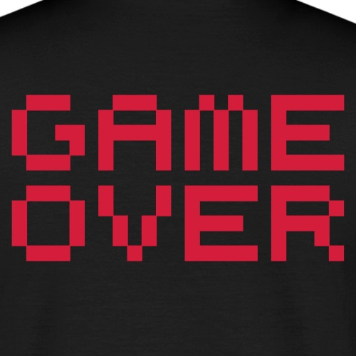 Game over / game over pixels