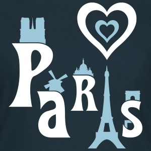 I Love Paris T-shirts - Vrouwen T-shirt