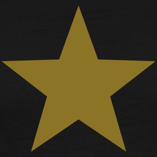 Gold Stern, Gewinner, Sieger, Bester, Star, Held