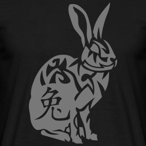 lapin signe astrologique 2 chinois rabbi Tee shirts - T-shirt Homme