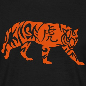 tigre signe astrologique 2 chinois tiger Tee shirts - T-shirt Homme