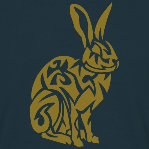 lapin lievre tribal rabbit 107 Tee shirts - T-shirt Homme
