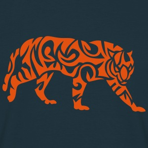 tigre tribal tiger 107 Tee shirts - T-shirt Homme